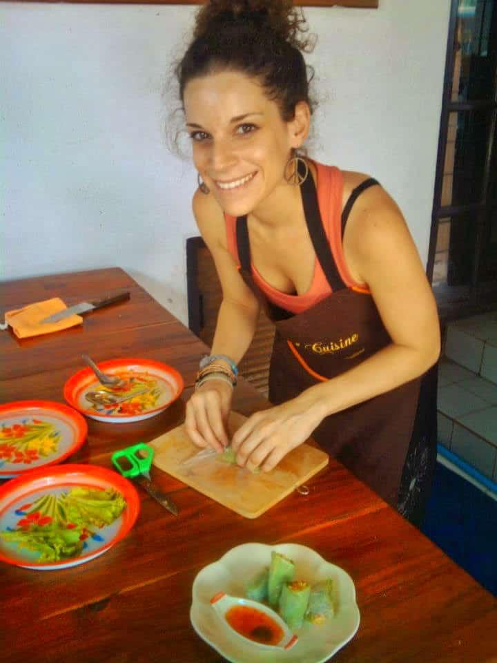 nina cooking class chiang mai - Thai Vegetarian Food