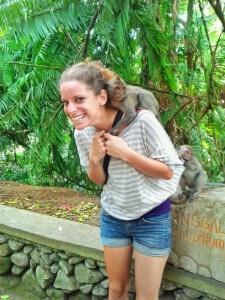 nina monkey ubud bail