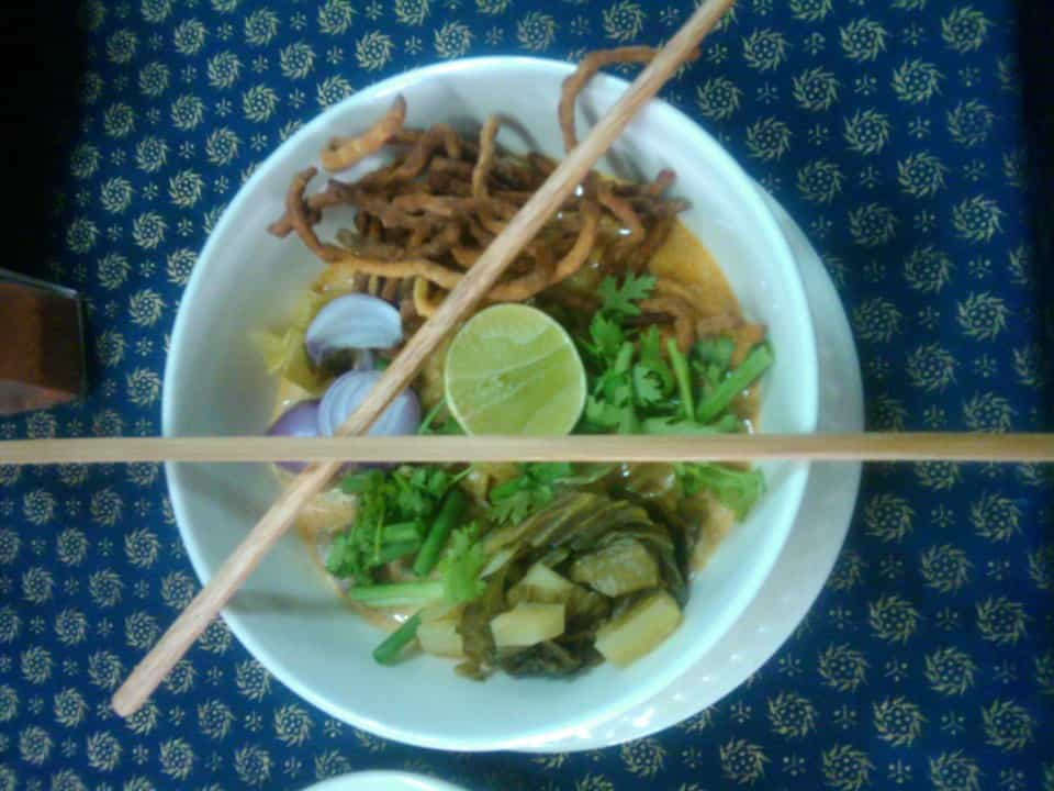 Khao Soi - North Thailand curry dish.