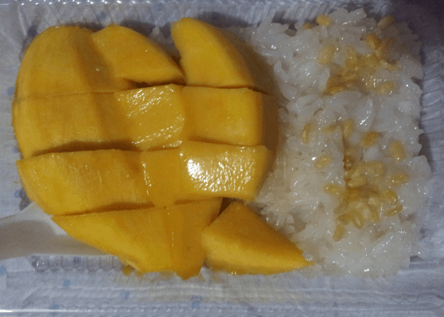 Thai Food, Mango sticky rice