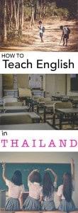 faq on how to teach in thailand