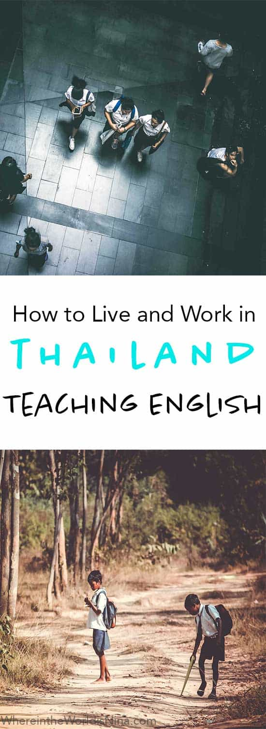 going abroad to teach english