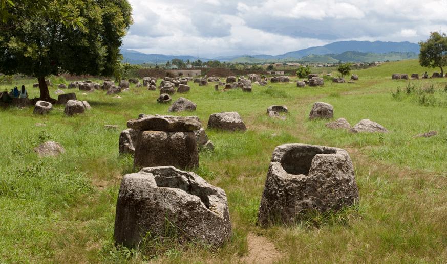 Guns, Jars, Mines and…Cheese- Plain of Jars, Laos