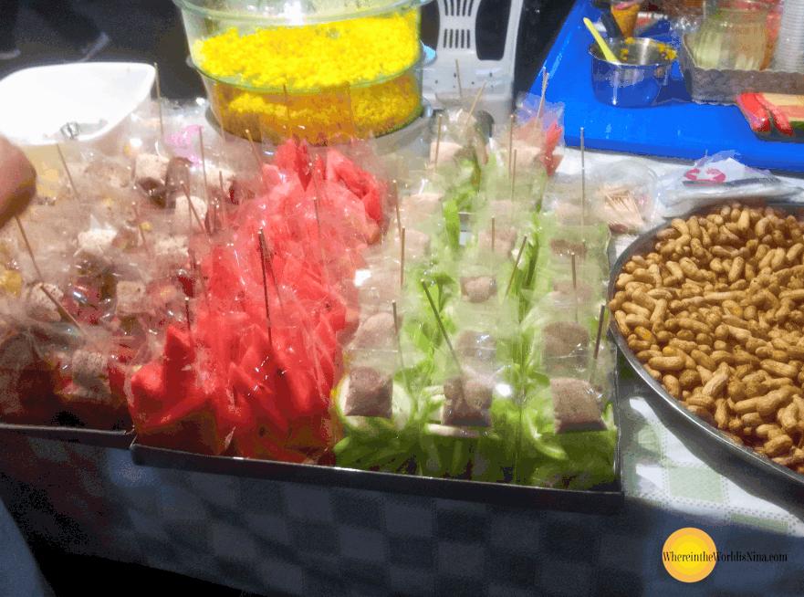 street market food