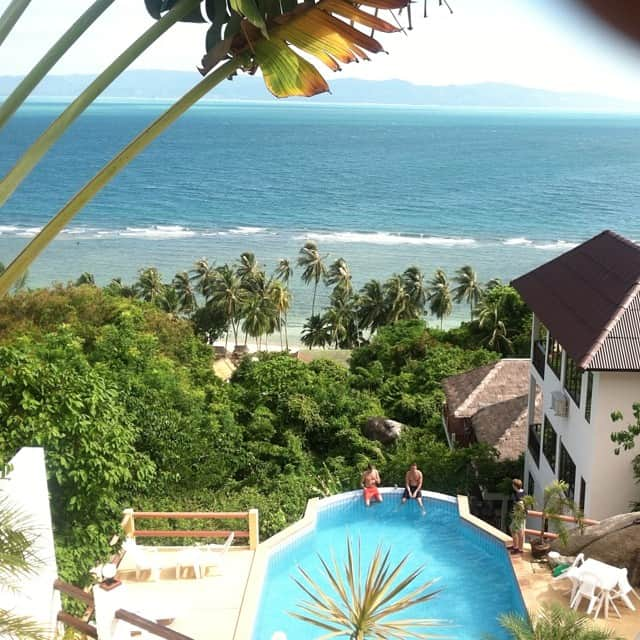 #nofilter needed for #TheView in #kohphangan <3