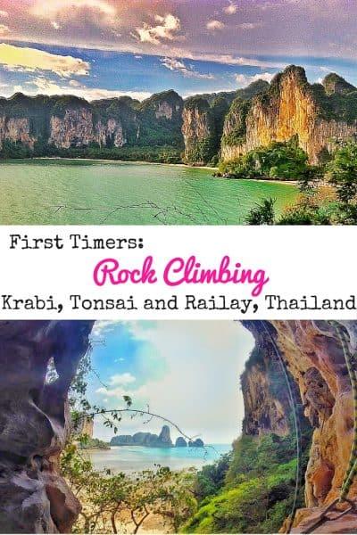 Rock Climbing Krabi, Tonsai and Railay, Thailand
