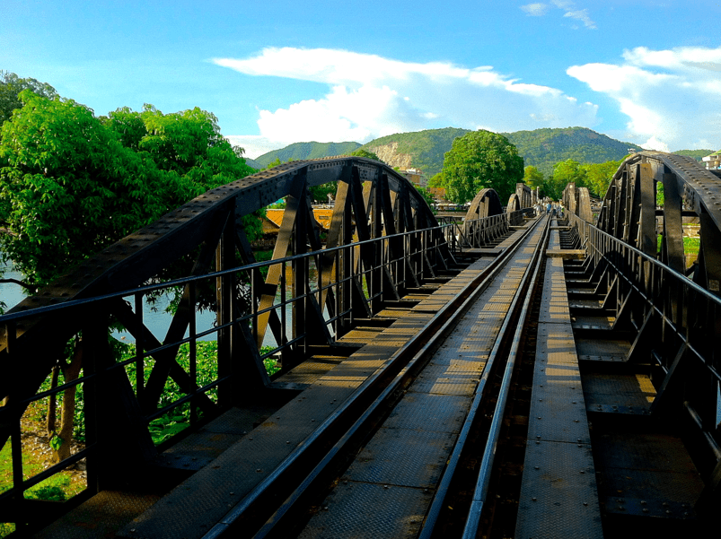 Photo Blog: Kanchanaburi – Bridge on the River Kwai and Erawan Falls