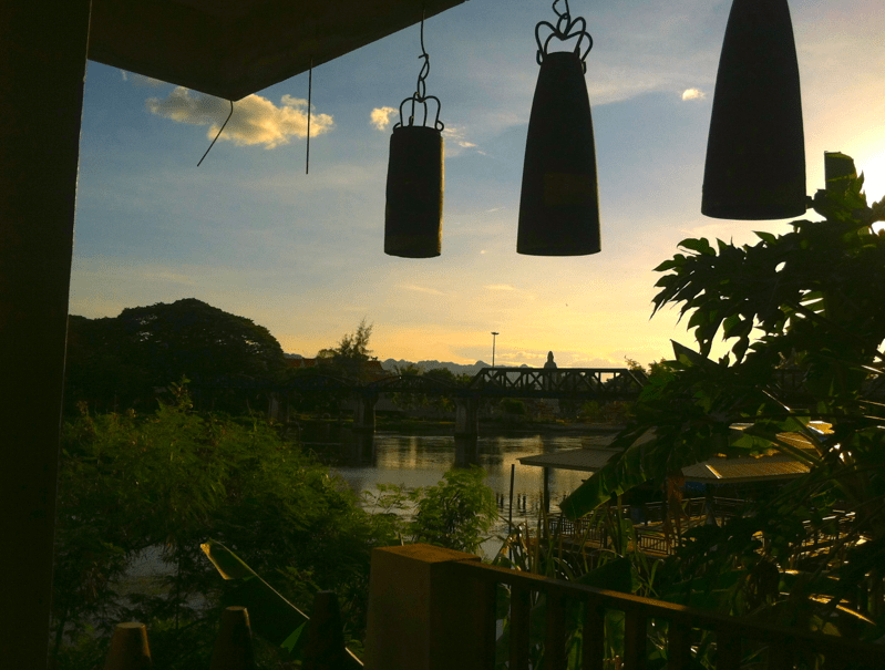 River Kwai from the museum