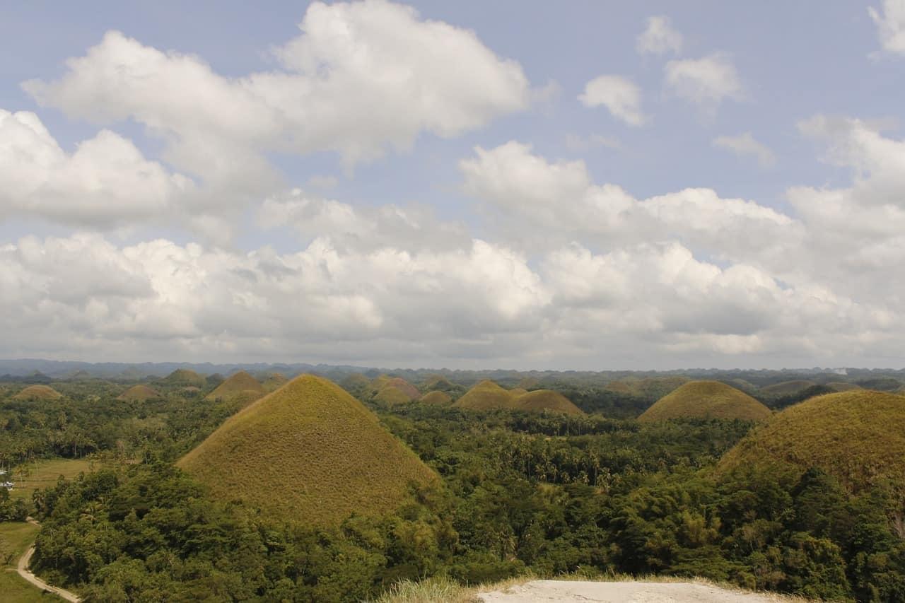 Beautiful Choclate Hills of Bohol Philippines