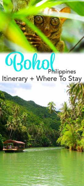 What to do on a bohol itinerary