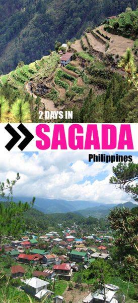 Sagada itinerary pin
