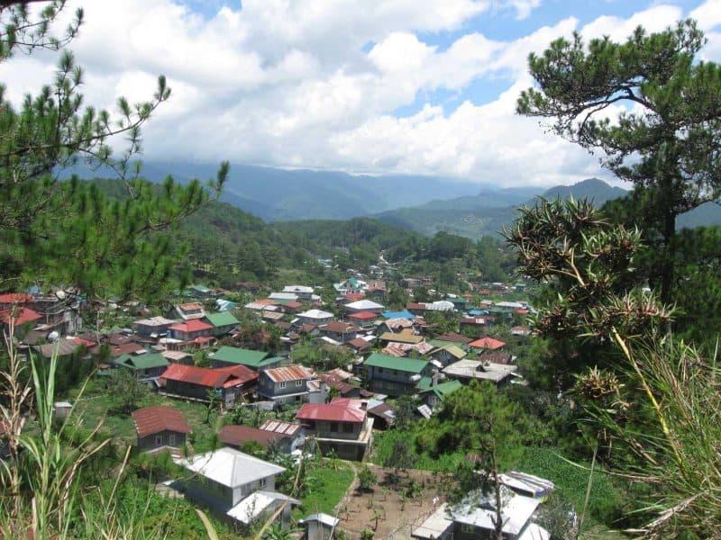 Sagada Philippines rice terrances