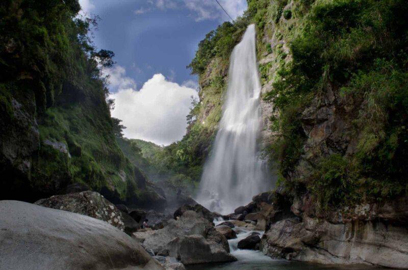 Bomod-ok Falls in Sagada Philippines