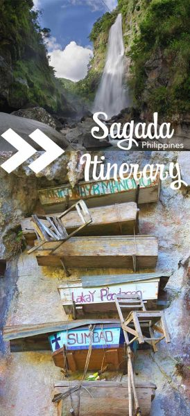 Pin for what to do in Sagada