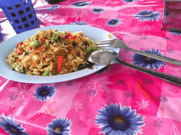 fried rice thailand