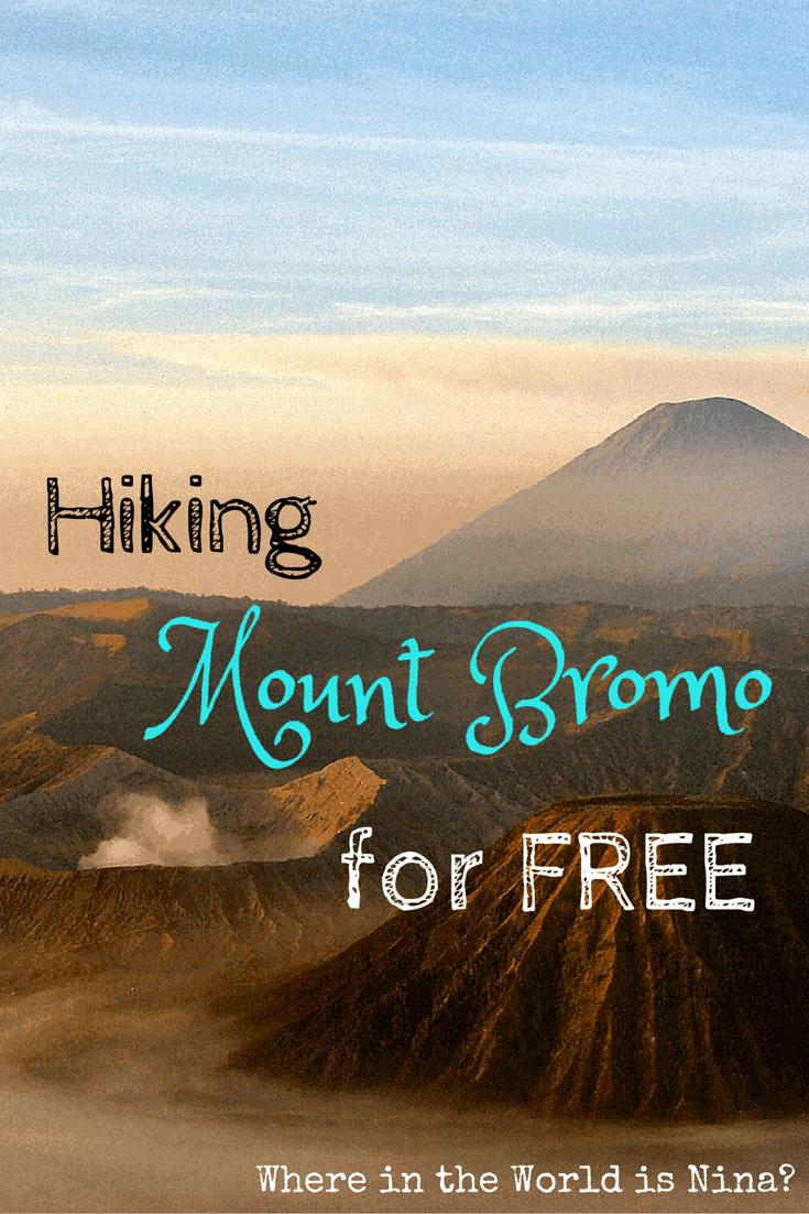 Mount Bromo for free