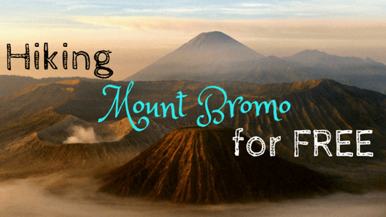 hiking mount bromo for free bromo without a tour bromo tour bromo mountain hike mount bromo