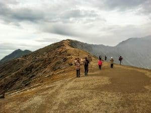 hiking to kawah ijen is the best activity to do