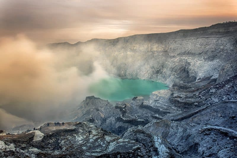 See the famous Blue Fire during kawah ijen tour