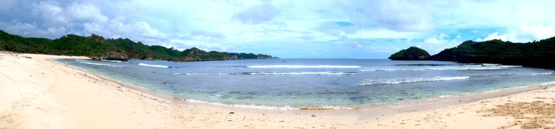 how to get to Pacitian Srau Beach java pacitan