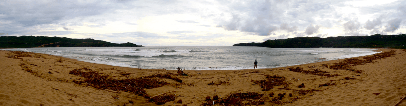 how to get to Pacitian pacitan beach panoramic java indonesia