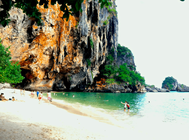 railay beach Phranang Cave beach - Railay Beach and Tonsai Beach