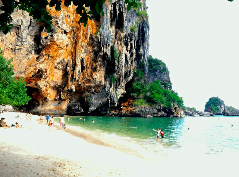 Railay Beach Phranang Cave And Tonsai