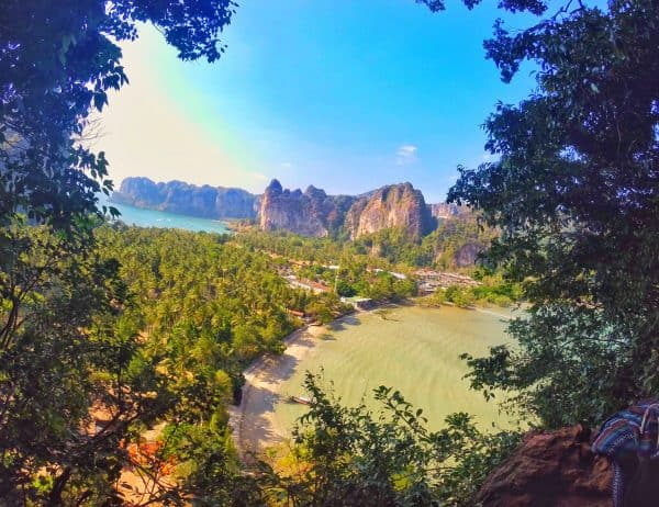 Railay beach viewpoint - Railay Beach and Tonsai Beach