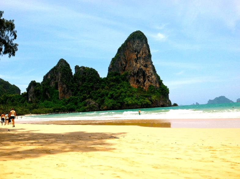 Railay beach west
