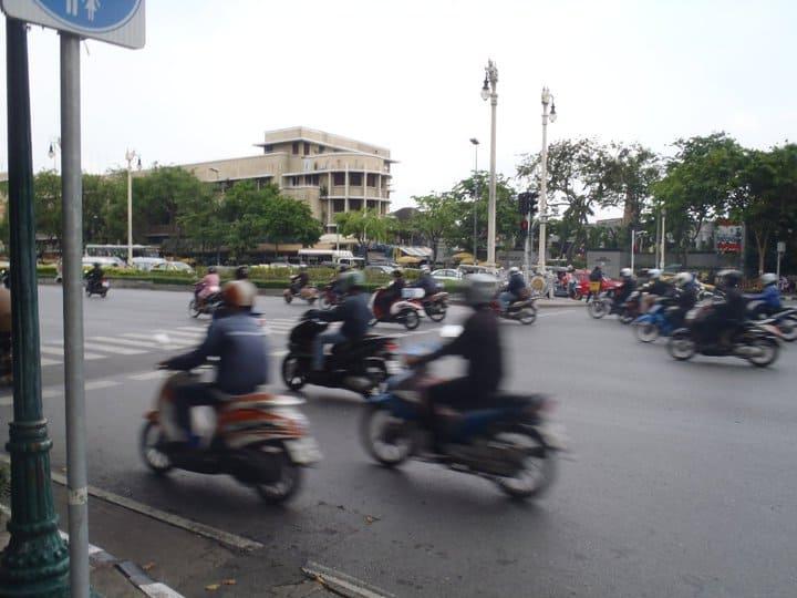 thailand transportation motorbike bangkok
