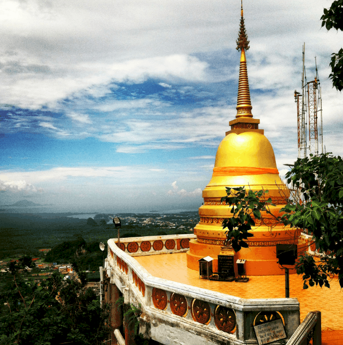 Tiger Cave Temple - guide to krabi town
