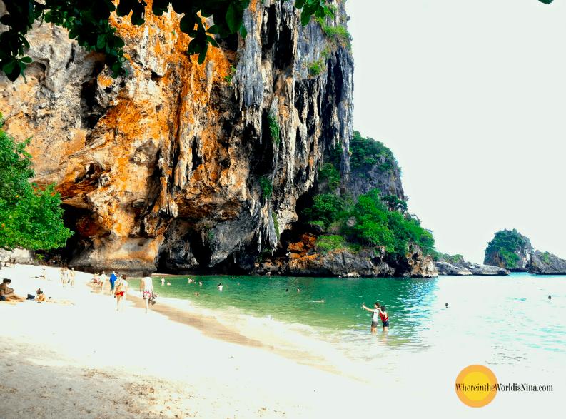 phranang-cave-beach-krabi - Bizarre places in Southeast Asia