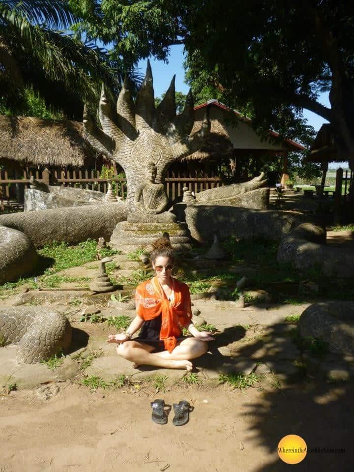 vientiene laos buddha park 2 - Bizarre places in Southeast Asia