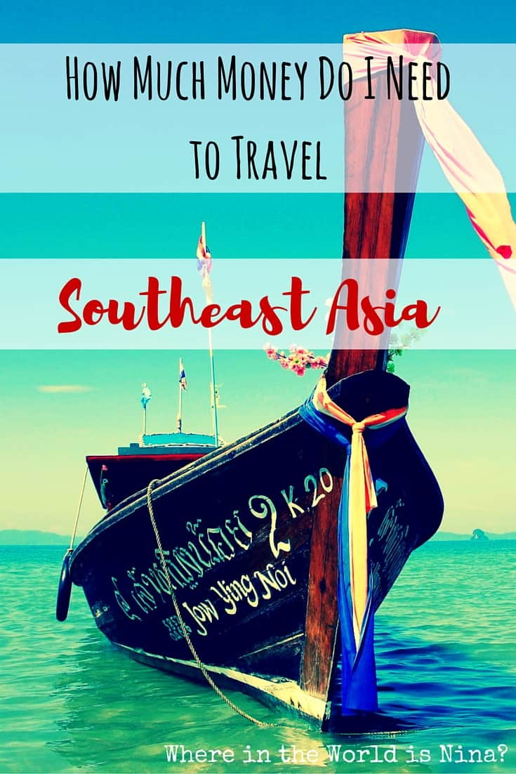 how much money to travel southeats asia