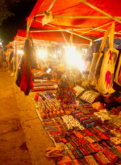 luang prabang laos shopping market