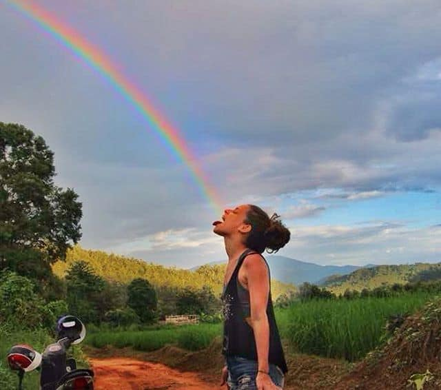 where in the world is nina puking rainbows