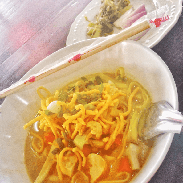 Khao Soi - Thai Vegetarian Food