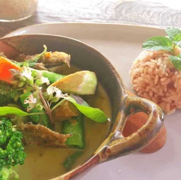 green curry- Thai Vegetarian Food