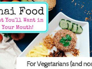 Thai food for vegetarian
