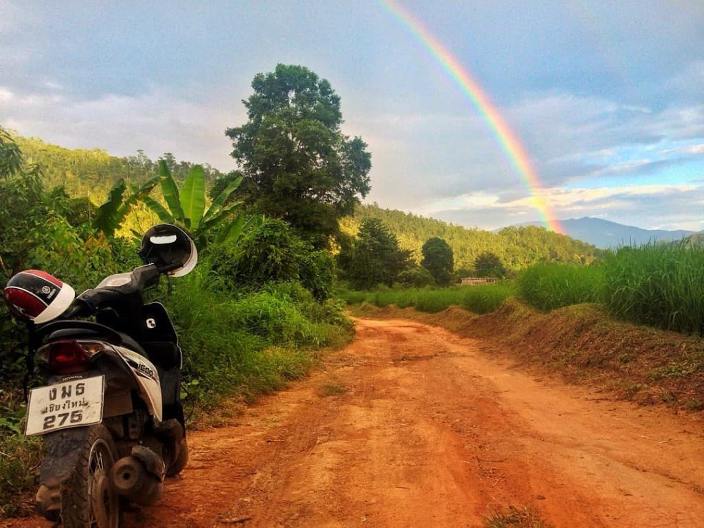 Motorbike in Pai