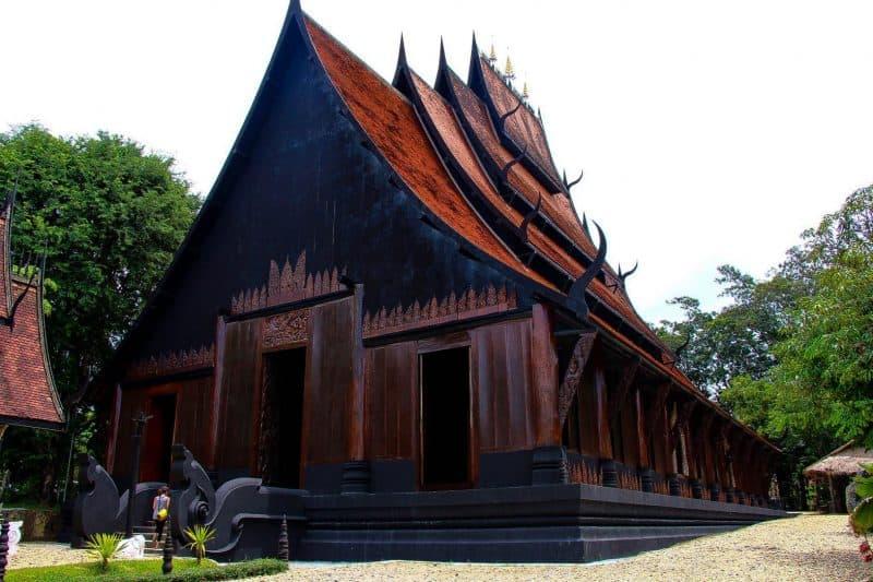 include chiang rai black house in your chiang rai itinerary