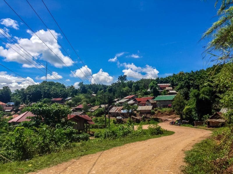 The best way to see luang namtha is to motorbike