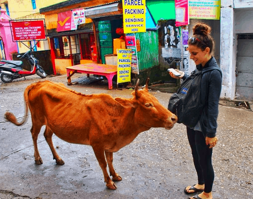 visiting india for the first time