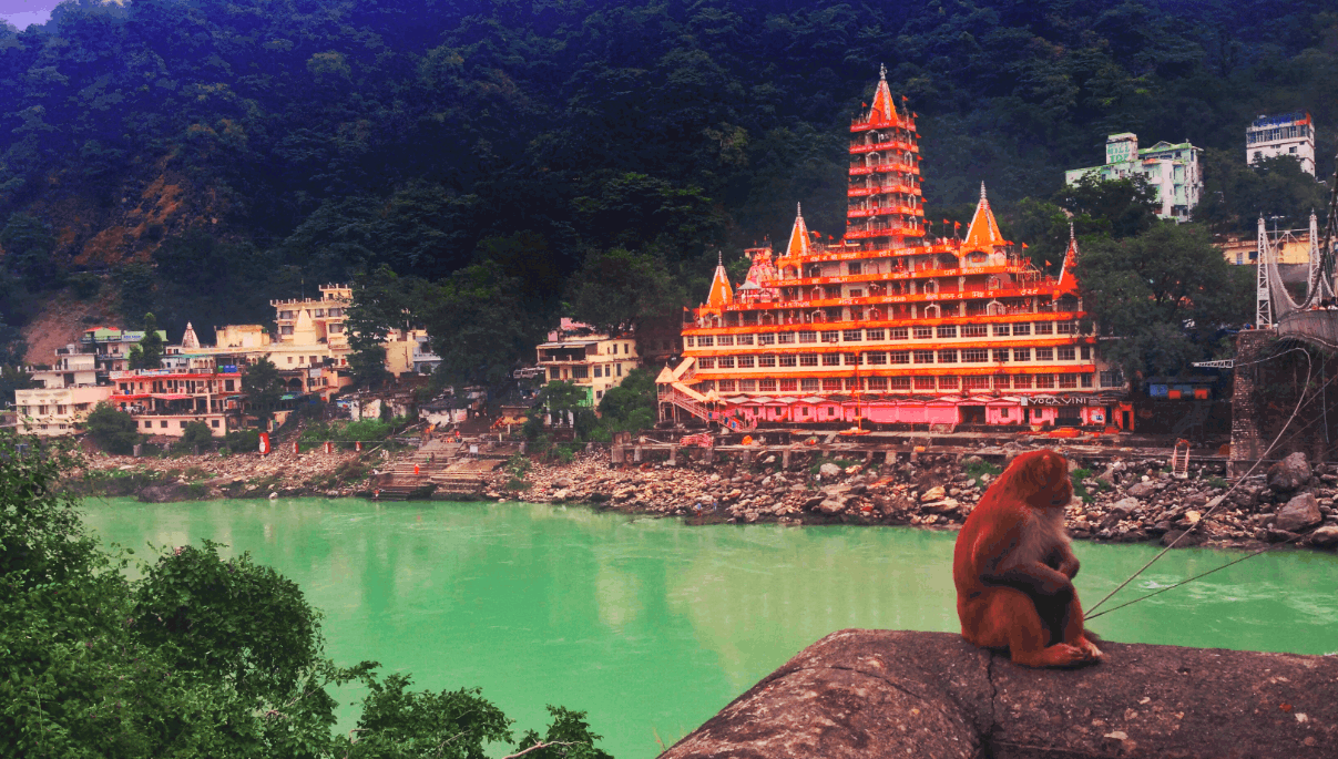 india temple rishikesh - visiting india for the first time