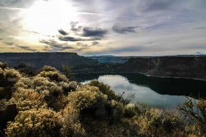 make a day trip in bend to visit the cove palisades