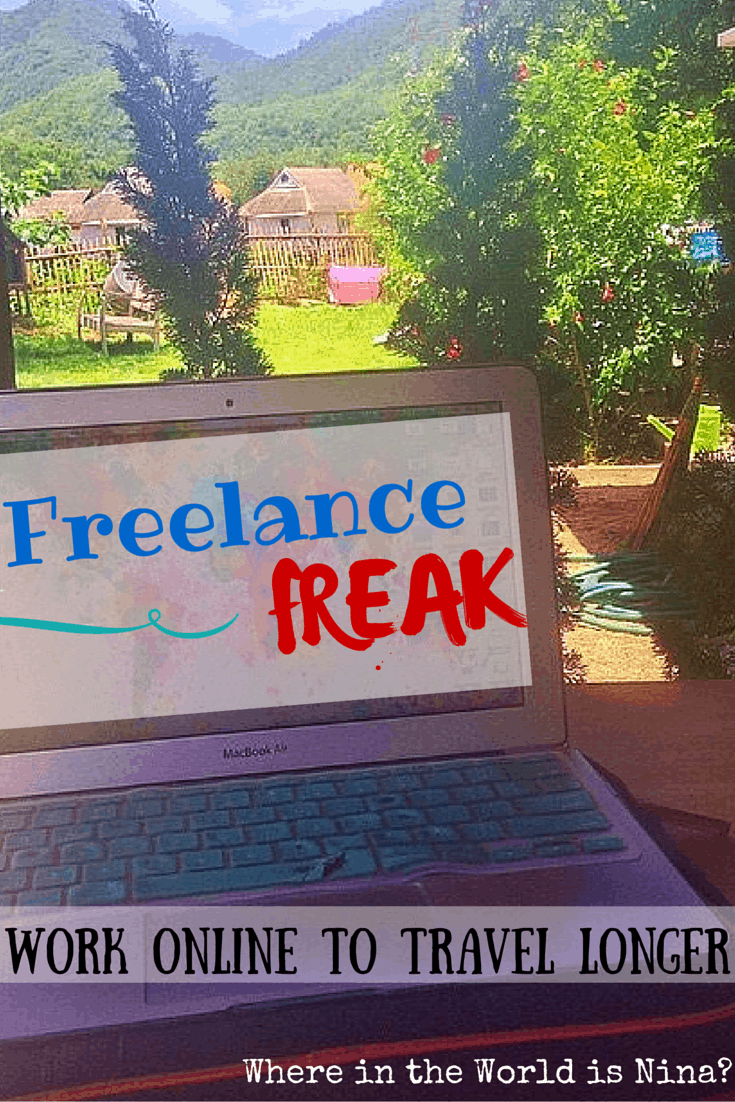 How to work online as a freelancer to travel
