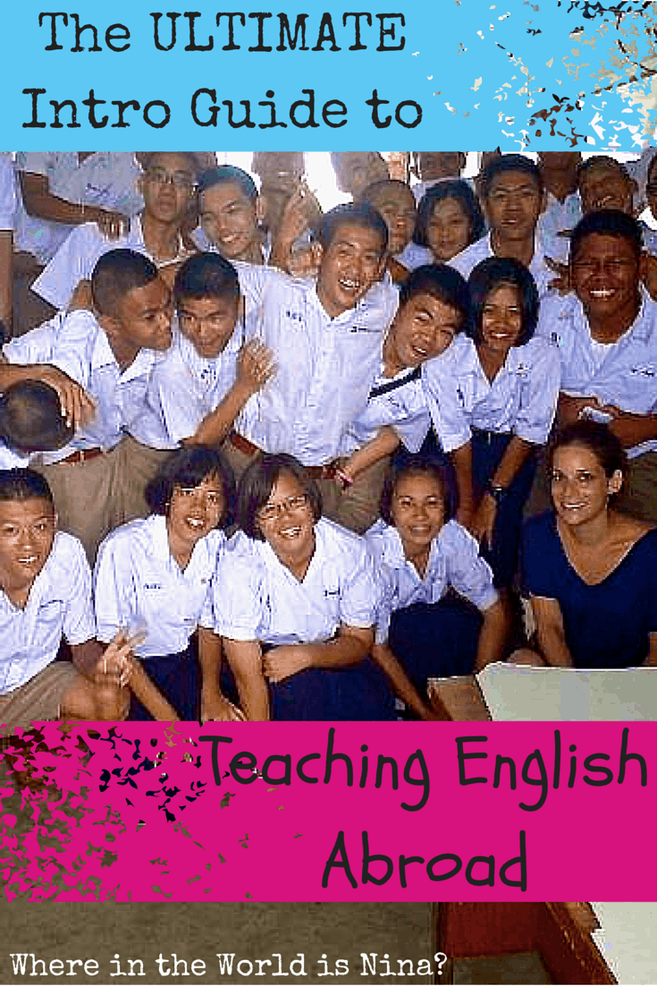 Intro guide to teaching English abroad