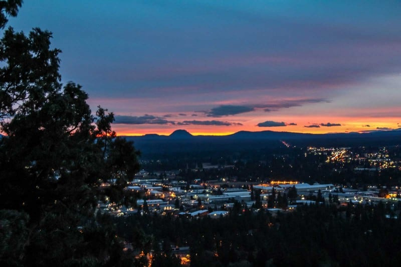 things to do in bend oregon for a viewpoint at the pilote butte