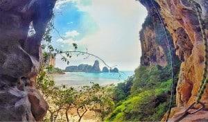 rock climbing tonsai thailand