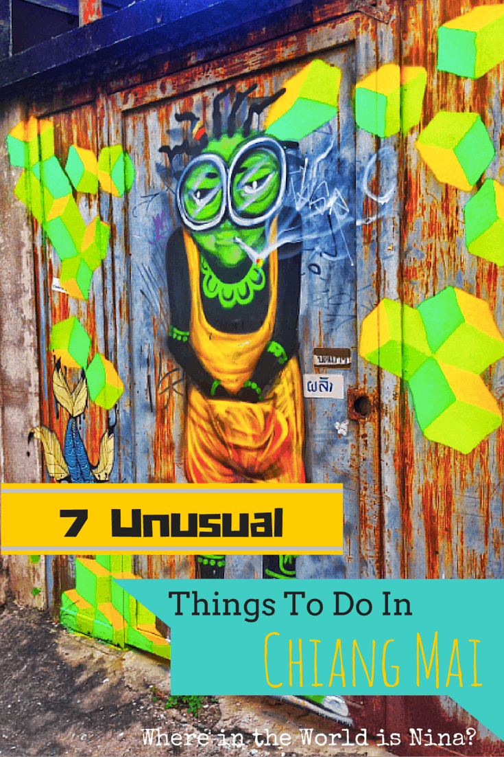 unusual things to do in chaing mai